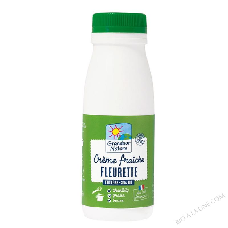 Crème fraîche fleurette 25 cl