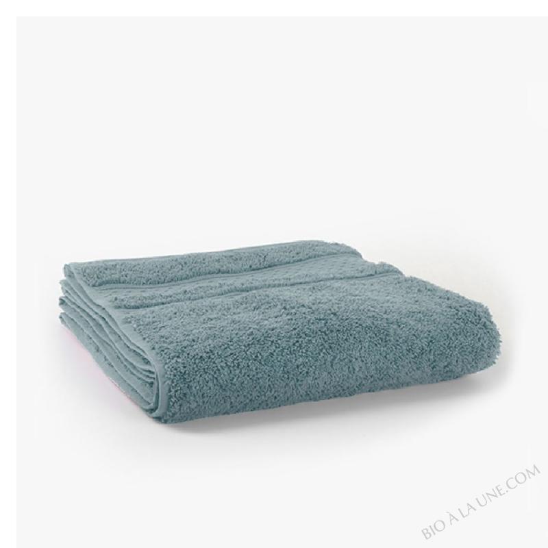 Drap de Bain Coton 100/140 600g Bleu Nébuleux