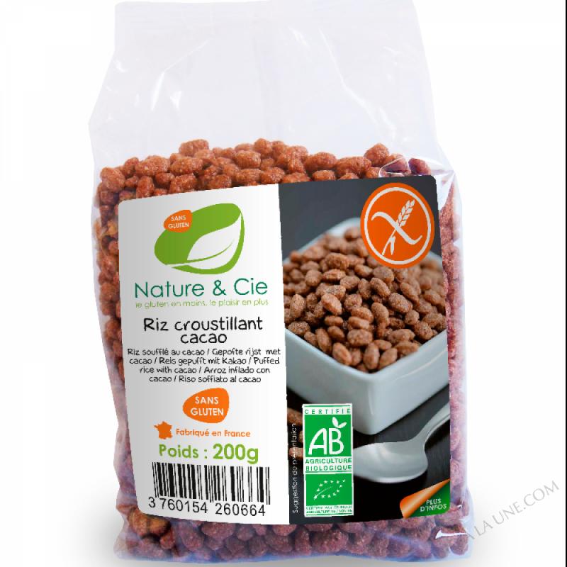 Riz croustillant chocolat - 200g