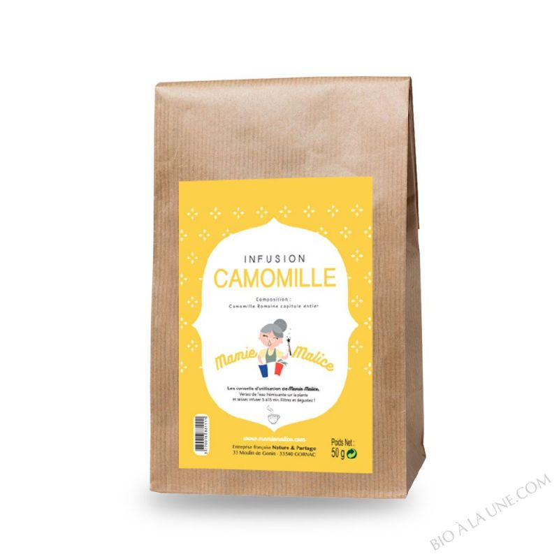 INFUSION CAMOMILLE 50 G