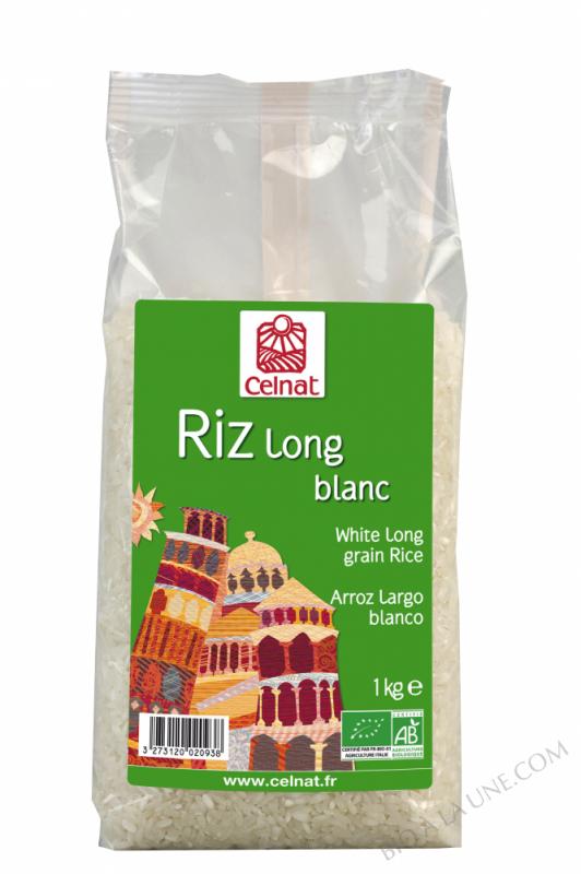 Riz Long blanc biologique