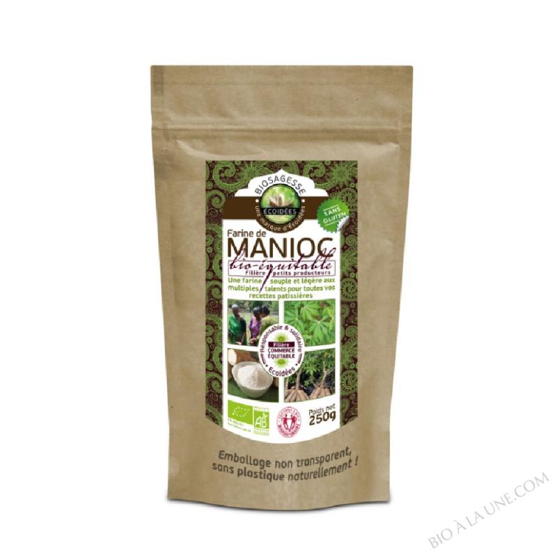 Farine de manioc  BIO et EQUITABLE - 250g