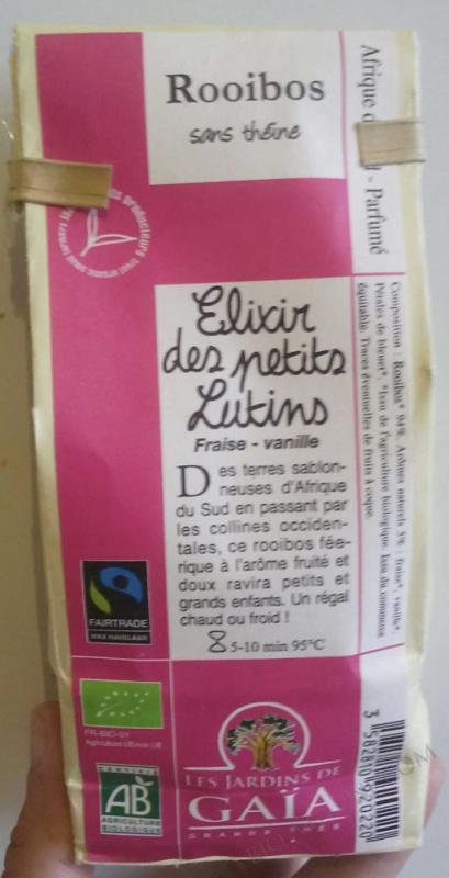 ROOIBOS ELIXIR DES PETITS LUTINS 100G LES JARDINS DE GAIA
