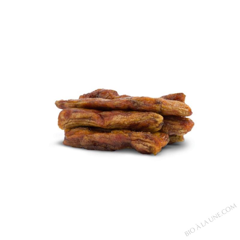Banane Gros Michel du Cameroun équitable séchée entière | Sac 2,5 kg
