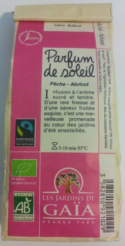 ROOIBOS PARFUM DE SOLEIL 100G LES JARDINS DE GAIA
