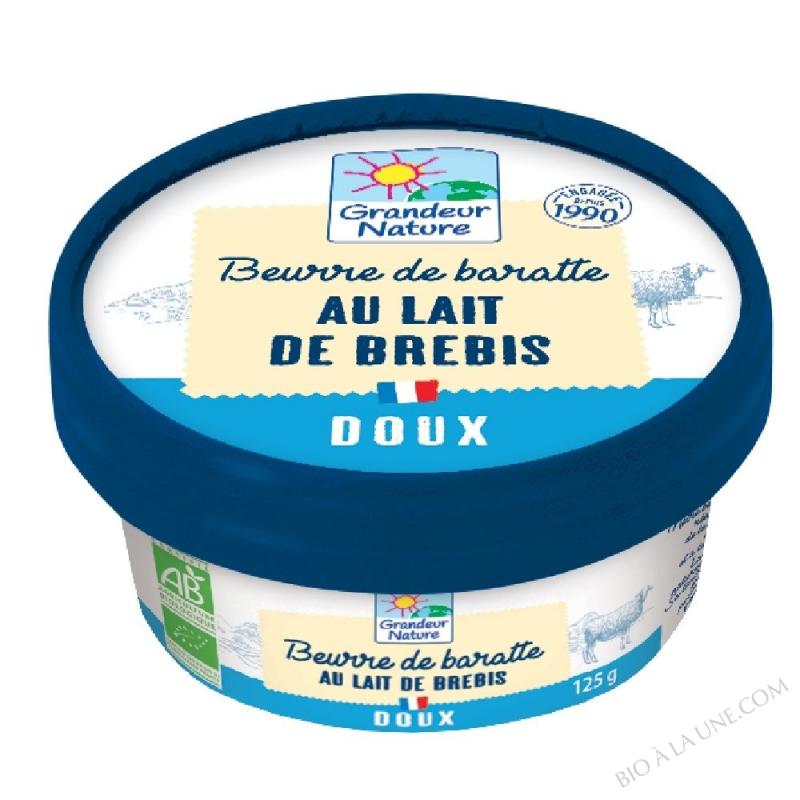 BEURRE DE BREBIS DOUX 125G