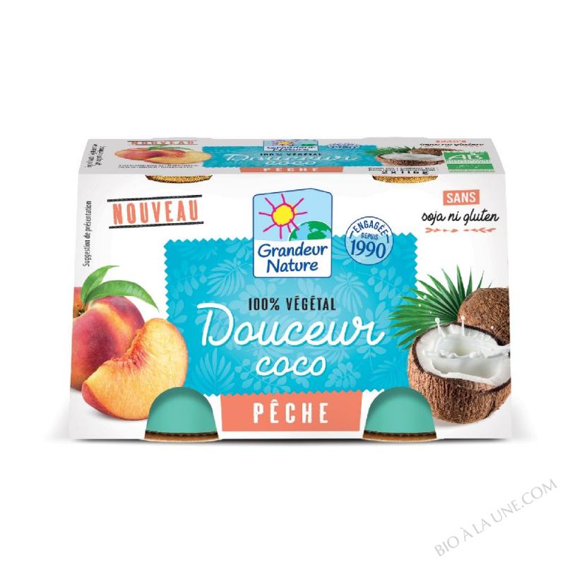 DOUCEUR VEGETALE COCO/PECHE 2X125G