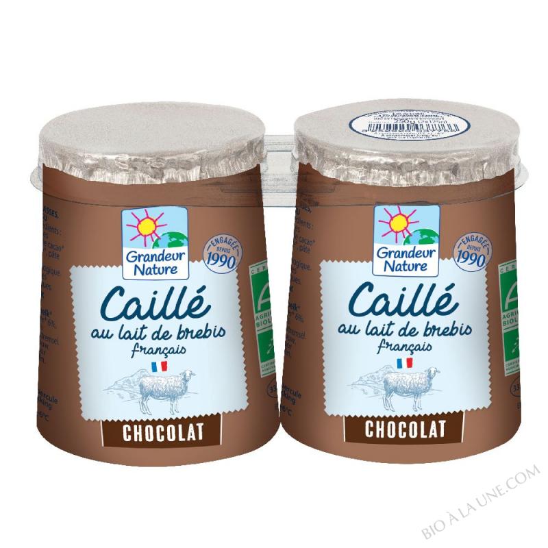CAILLE LAIT DE BREBIS CHOCOLAT 2X125G