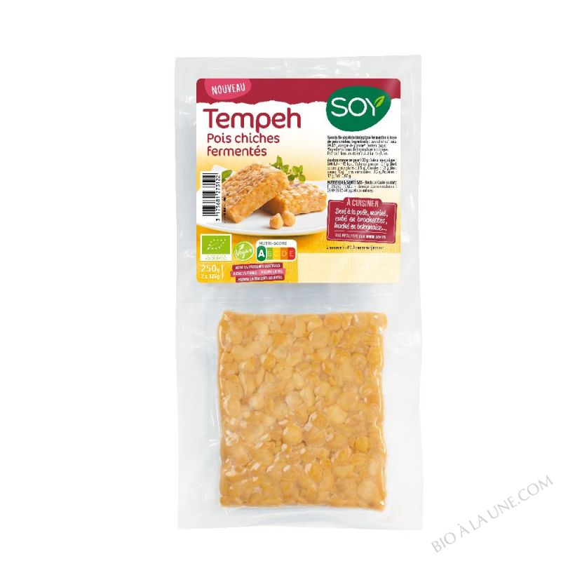 Tempeh Pois Chiches
