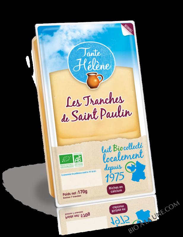LES TRANCHES DE SAINT PAULIN LIBRE SERVICE 170G TANTE HELENE