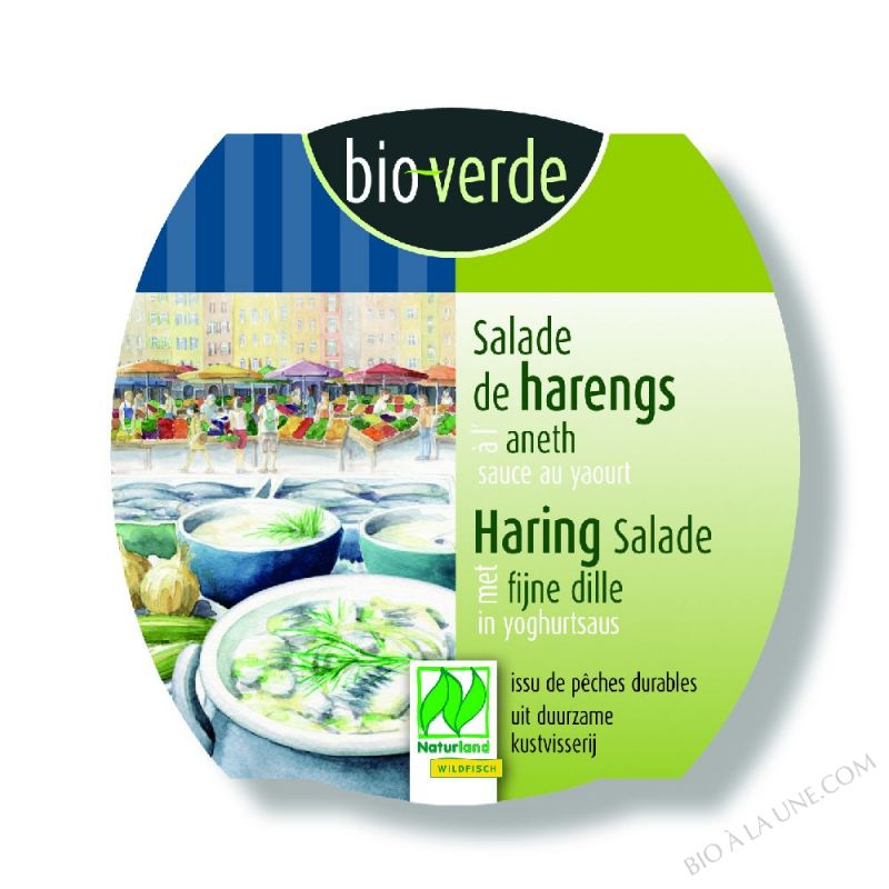Salade de harengs à l'aneth, 150g
