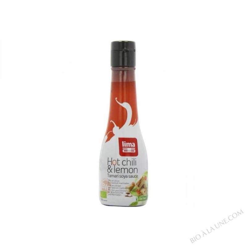 Sauce Soja Hot Chili Citron 200ml