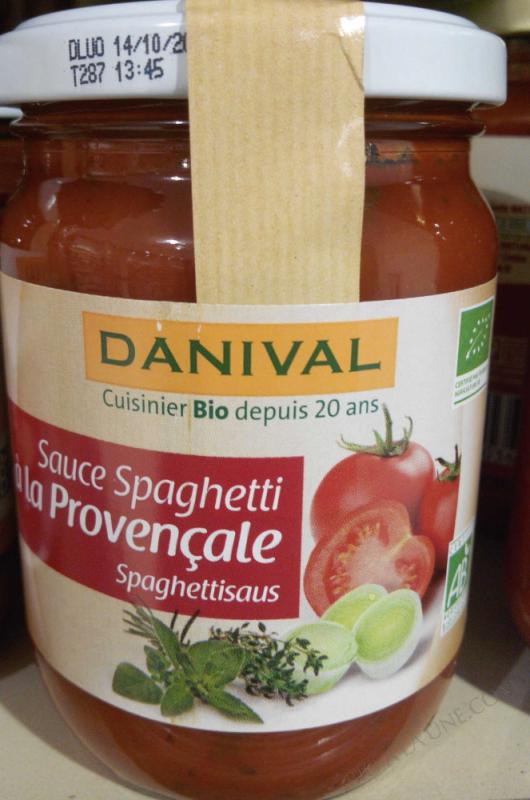 Sauce spaghetti à la provençale- 260 g