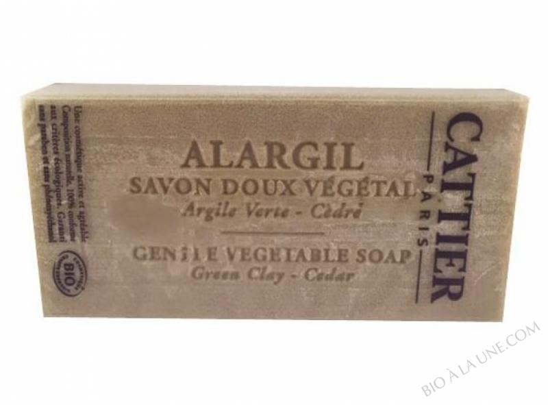 Savon Doux Vegetal Alargil bio Cattier