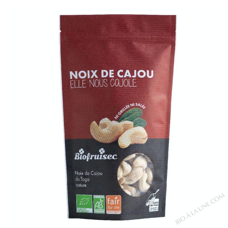 Noix de Cajou du Togo nature équitable | Sachet zip 125 g