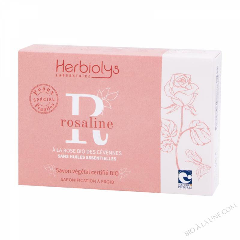 Savon à froid Rosaline certifié BIO sans huiles essentielles