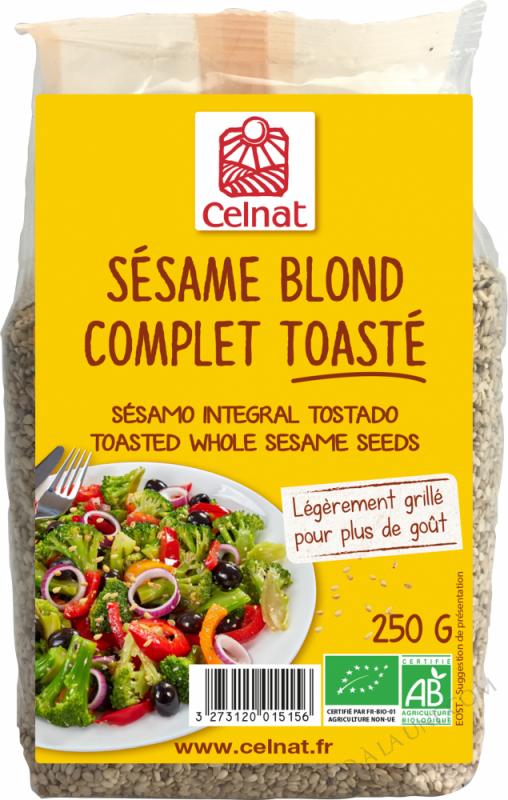 CELNAT Sésame Blond complet BIO - 250g