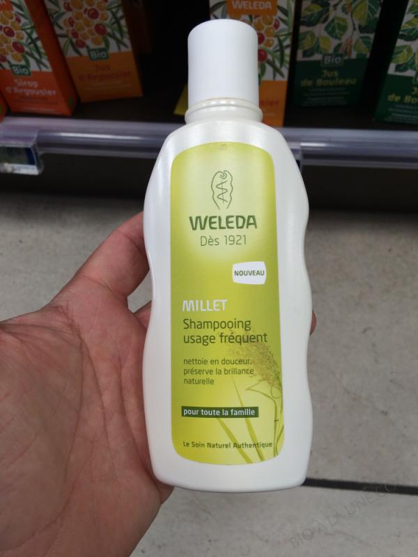 Shampooing Usage Fréquent Au Millet - 190Ml