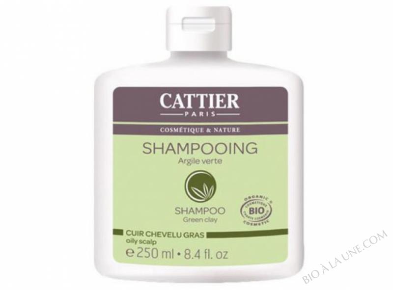 Shampoing Cheveux Gras bio Cattier