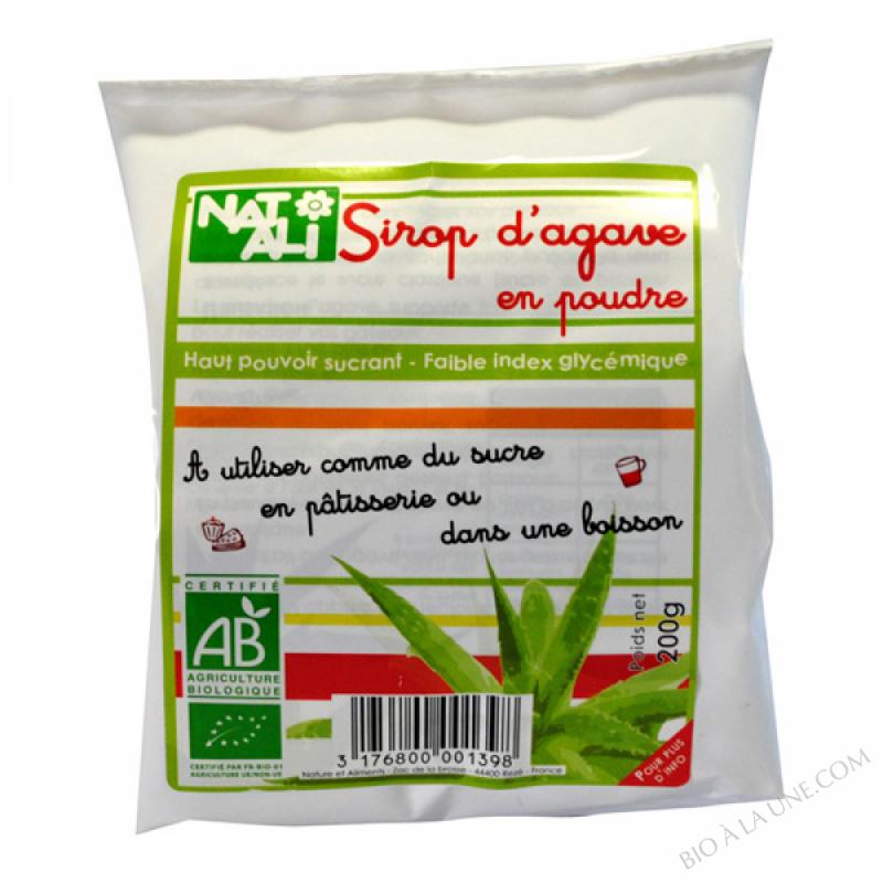 Sirop d'Agave Bio en Poudre 200g