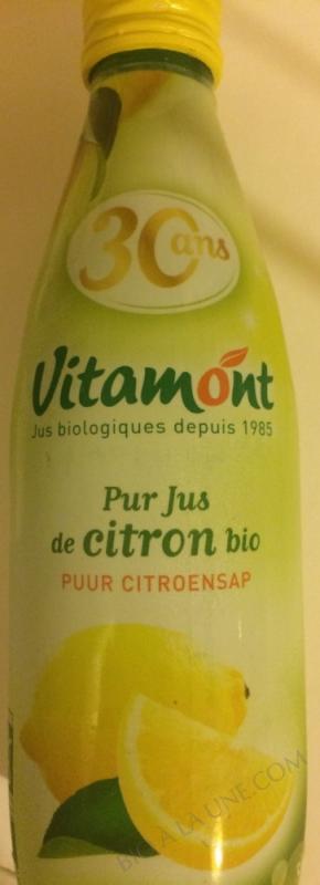 Pur Jus de Citrons Bio 25cL