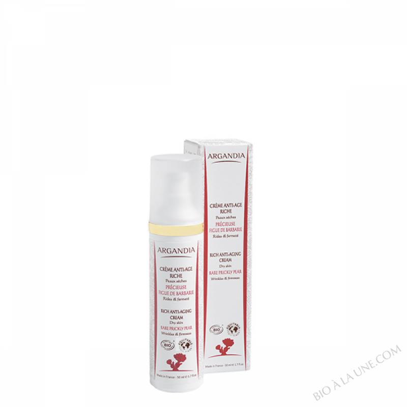 Crème Anti-âge Figue de Barbarie Riche Peaux Sèches - 50 ml
