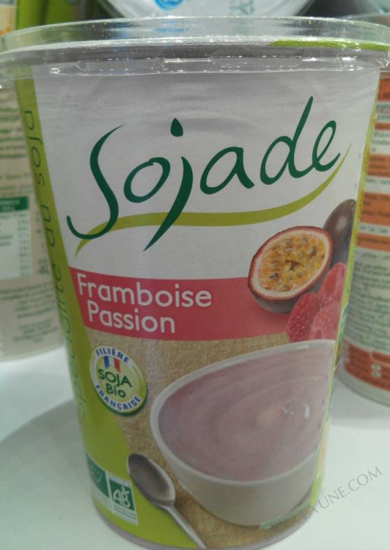 Spécialité au soja, Framboise Passion - 400 g