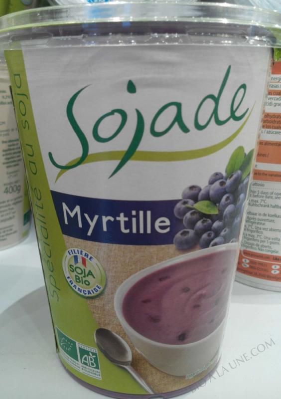 Spécialité au soja, Myrtille - 400 g