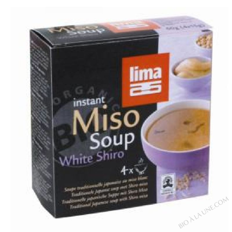 Instant white shiro miso soup