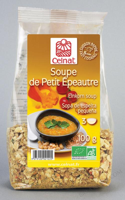 CELNAT Soupe de Petit Epeautre BIO - 100g