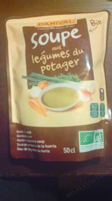 Soupe potagère BIO 500ml