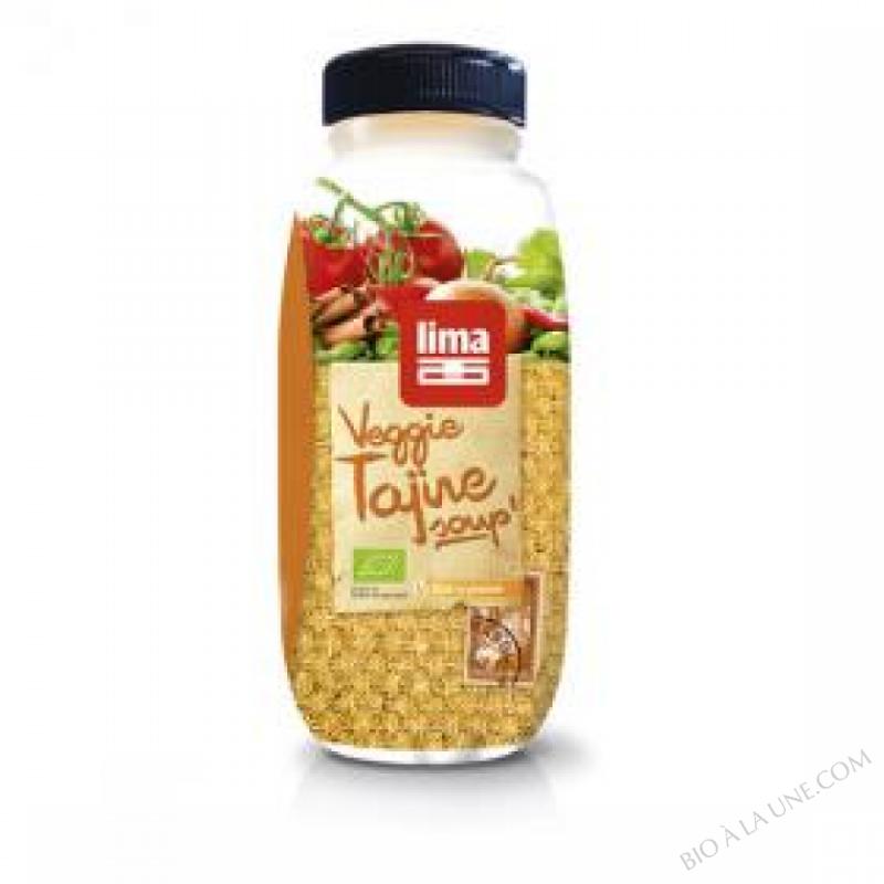 Soupe Veggie Tajine BIO 600mL