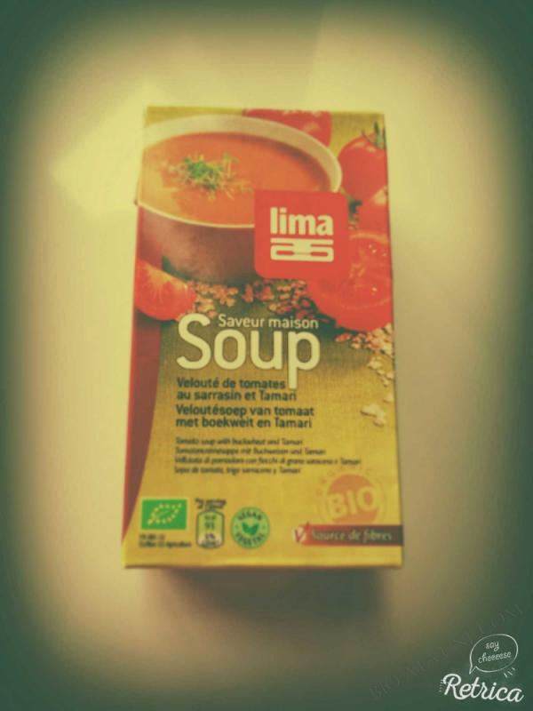 Soupe tomate aux flocons de sarrasin 1L