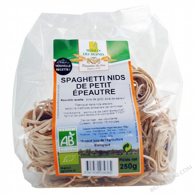 Spaghetti de Petit Epeautre BIO 250g