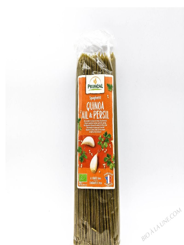 Spaghettis Quinoa Ail et Persil