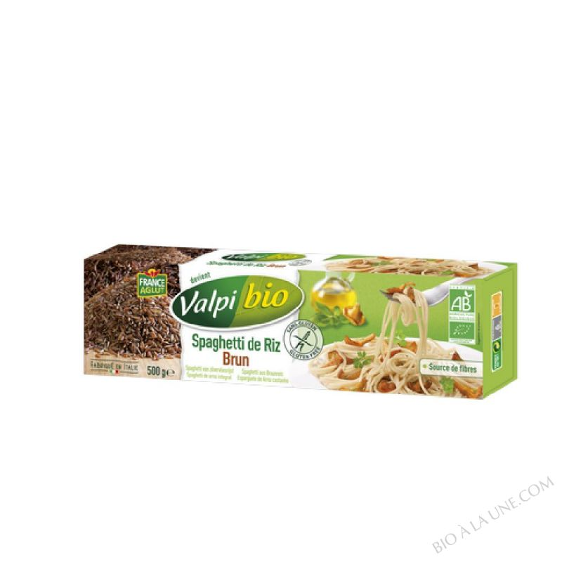 Spaghetti de riz brun Bio 500g