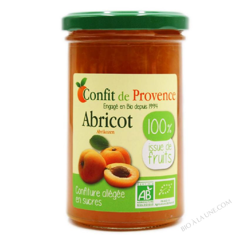 Confiture d'Abricot Allegee BIO 290g
