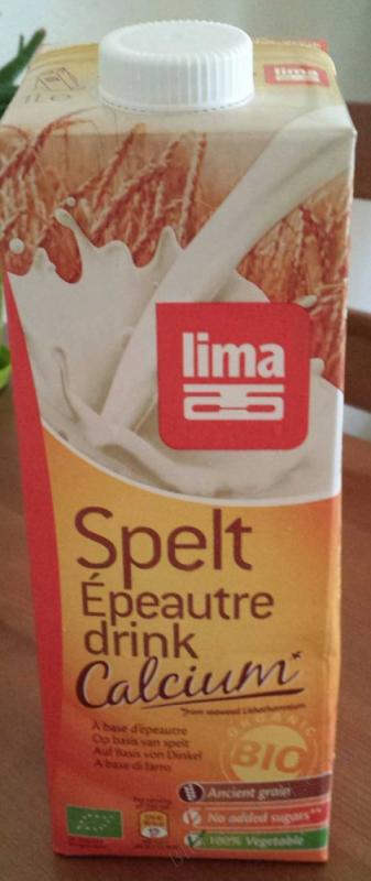 Lait d'epeautre Calcium 1L