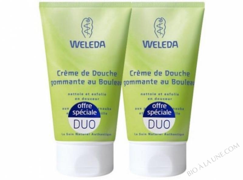 Duo Creme de Douche Gommante au Bouleau