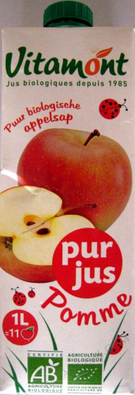Tetra Pak Pur Jus de Pomme Bio 1L