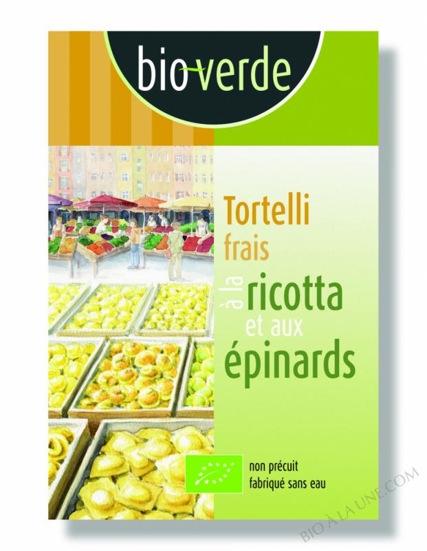 Tortelli Ricotta Epinard - 250G