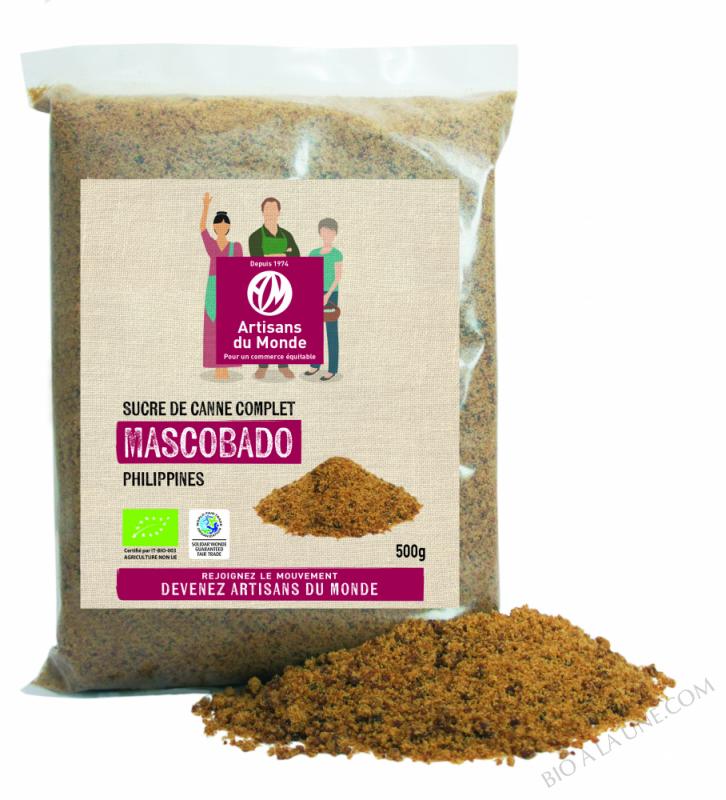 SUCRE COMPLET MASCOBADO - 500G