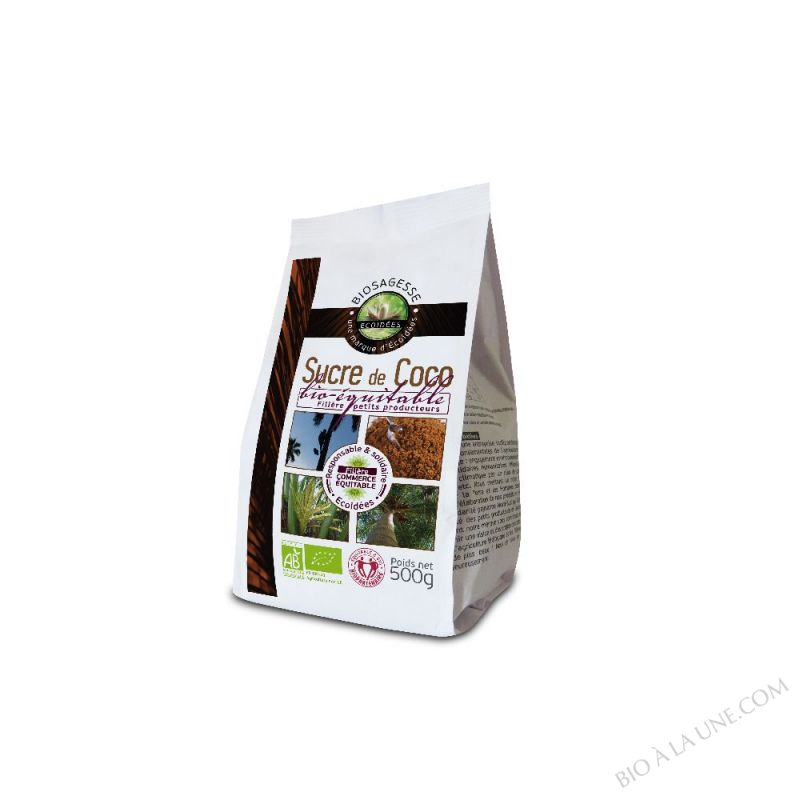 Sucre de fleur de Coco Bio 500g