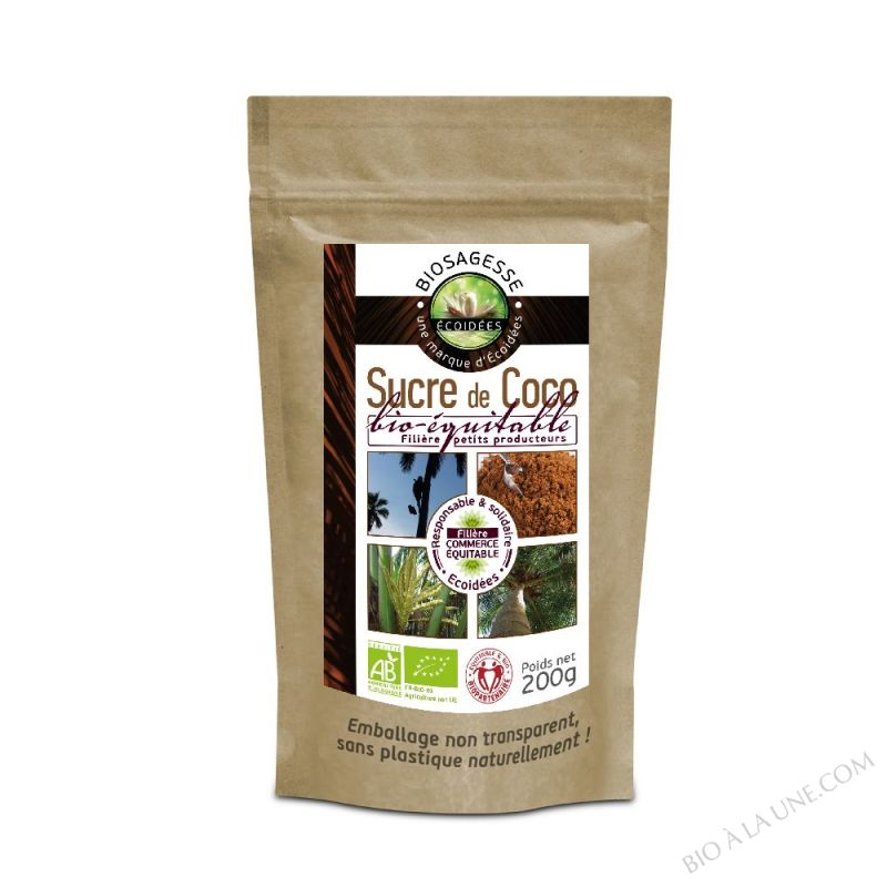 Sucre de fleur de Coco Bio 200g