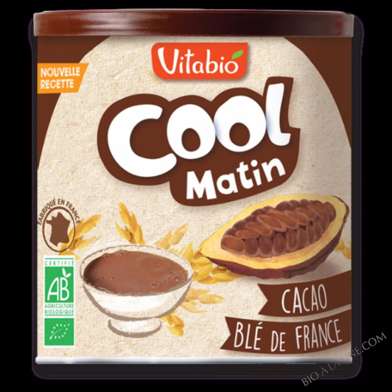 Cool Matin - poudre au cacao et au blé français - 500g