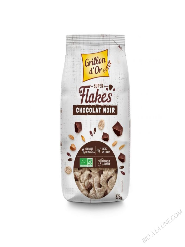 Super Flakes Chocolat noir 375g