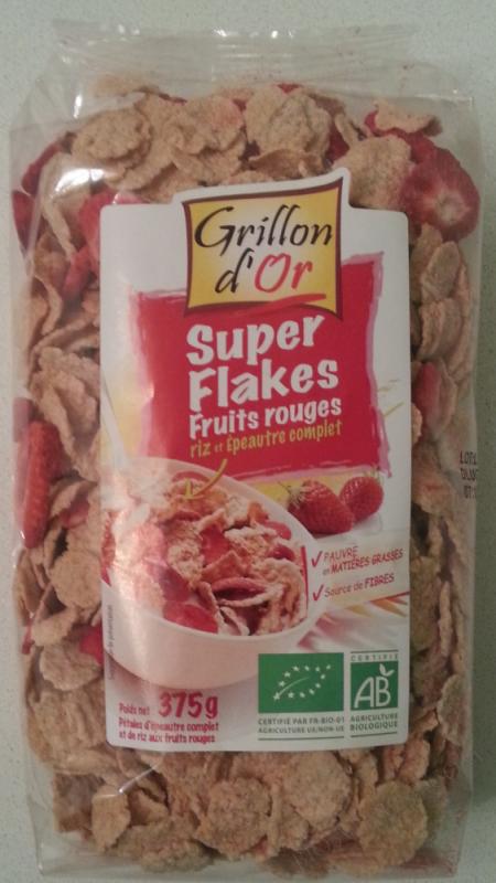 Super Flakes Fruits rouges 375g
