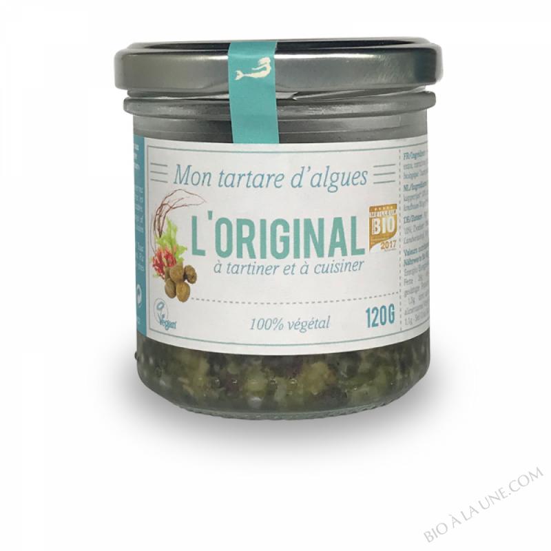 Tartare d'Algues fraîches l'Original - 120G - Marinoë