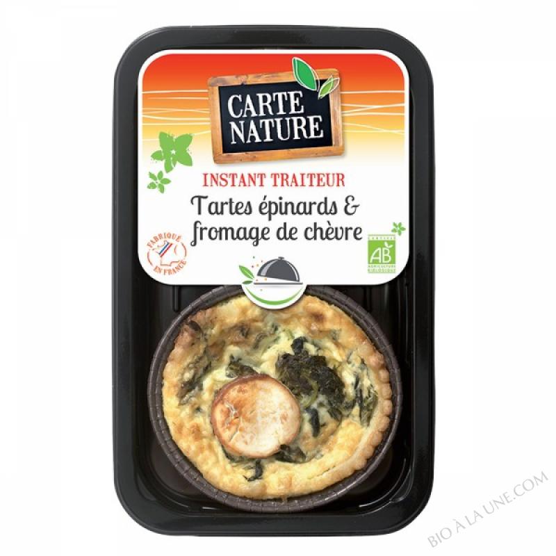 Tartes Epinards & Fromage de Chèvre - 230gr