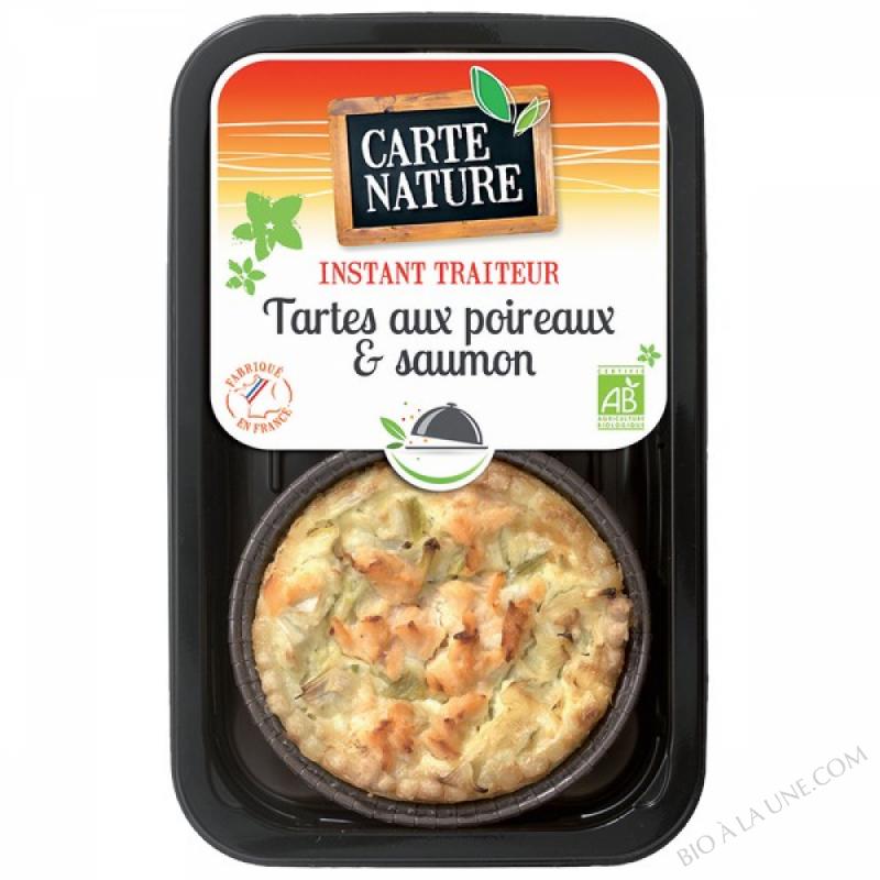 Tartes aux Poireaux & Saumon - 230gr